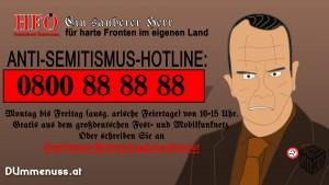 DUmmenuss- Anti-Semitismus Hotline